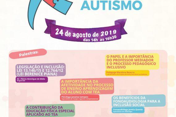 Ciclo de palestras sobre educação inclusiva na perspectiva do autismo tem inscrições até dia 22