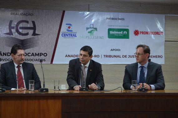 """Presidente da OAB/RO participa do """"VIII Encontro de Direito Médico de Rondônia"""", no TJRO"""