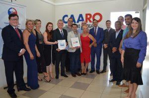 Convênio firmado entre Caaro e Ameron