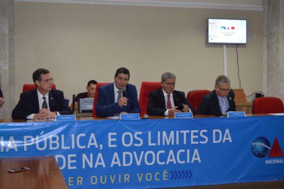 """Audiência Pública para debater """"Os Limites da Publicidade na Advocacia"""" é realizada na OAB/RO"""
