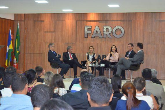 Diretores da OAB Rondônia e CAARO participam de bate papo com acadêmicos do curso de direito da FARO