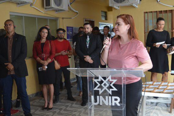OAB Rondônia prestigia solenidade de inauguração do Núcleo de Práticas Jurídicas da Unir