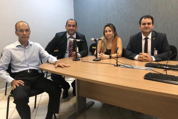 OAB de Rolim de Moura realiza visita às unidades de Segurança para garantir prerrogativas da advocacia da região