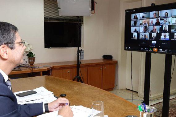 OABRO realiza sessão histórica do Conselho Seccional por videoconferência