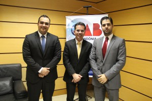 Comissão de Energia com o presidente da OAB, Andrey Cavalcante