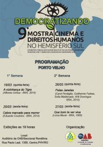 OABRO realiza mostra Cinema e Direitos Humanos