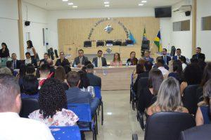 Entrega de credenciais – Ouro Preto do Oeste