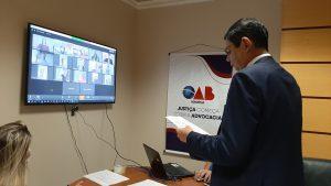 Solenidade de entrega de credenciais por meio virtual – Presidente Médici