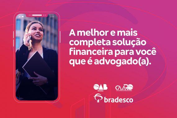 Lançamento: Parceria entre Bradesco, OABRO e CAARO garante linha de crédito exclusiva para advocacia
