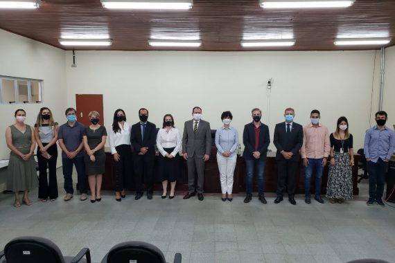 OAB Vilhena participa de solenidade de assinatura da ordem de serviço para construção do novo Fórum do município