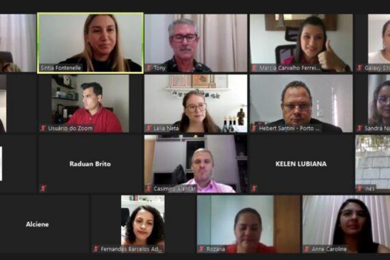 Atendimento à advocacia pelo convênio com INSS é debatido em reunião virtual da OAB/RO