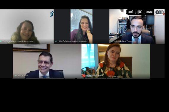 OAB Rondônia e TRT14 debatem sobre a importância do Escritório Corporativo e funcionamento das salas passivas nas Varas