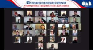 Entrega Ordinária de Credenciais – 31.05.21