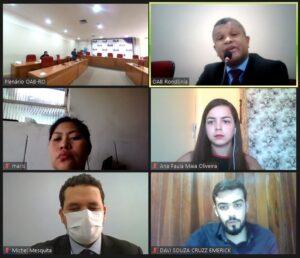 Sessão de Acolhimento à Jovem Advocacia