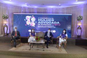 1º dia da II Conferência da Mulher Advogada de Rondônia