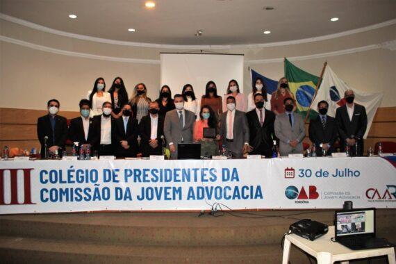 Ações destinadas a jovem advocacia são debatidas durante III Colégio de Presidentes
