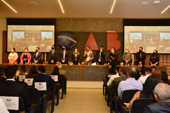 Nova sede da OAB em Cacoal é palco de grande cerimônia de entrega de credenciais