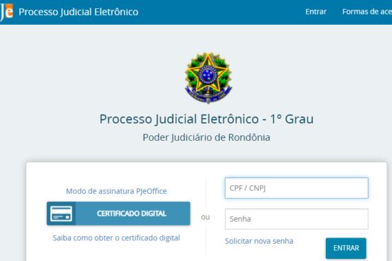 OAB pede providências ao TJRO quanto às inconsistências do PJe no estado