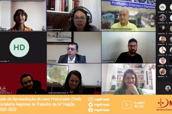 OAB participa de cerimônia de apresentação dos novos procuradores-chefes do MPT de Rondônia e Acre